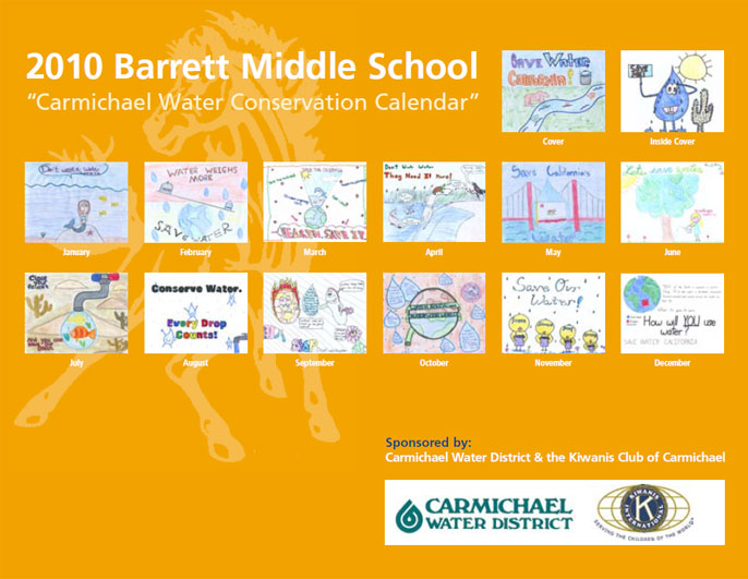 <h4>2010 Conservation Calendar Winners</h4>
