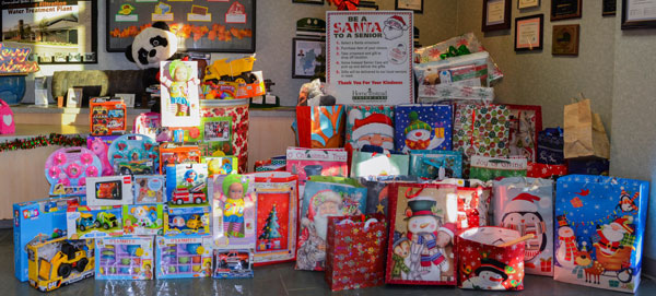 holiday drive donations