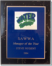 December 10, 2004 – Carmichael Water District Employees Win 2004 SAWWA Awards