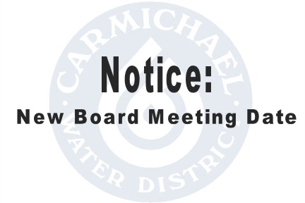 Notice - New Board Meeting Date